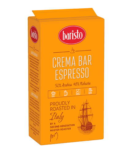 BARISTO crema bar ground coffee