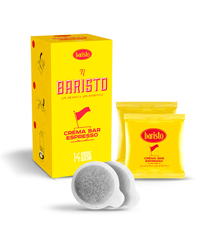 Baristo Crema Bar Espresso кафе дози thumbnail