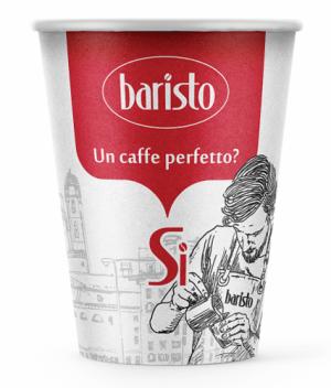 Картонени чаши Baristo 250 мл. thumbnail