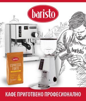 Кафе машина Rancilio Silvia Silver + Кафемелачка FIORENZATO F4 + Кафе на зърна Baristo Espresso Forte thumbnail